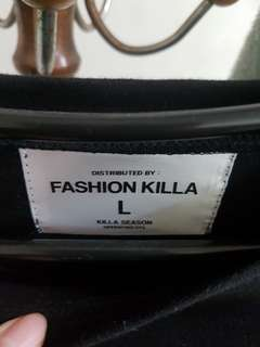 🚚 FASHION KILLA  (it g ma ape)薄長袖 長版