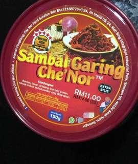 Sambal Garing Che' Nor