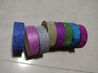 Glitter Colourful Tap