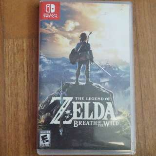 The Legend of Zelda : Breath of the wild Switch version