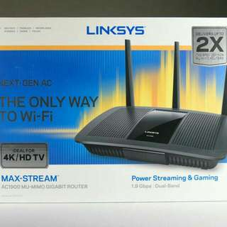 Wireless Router Linksys (Brand New)