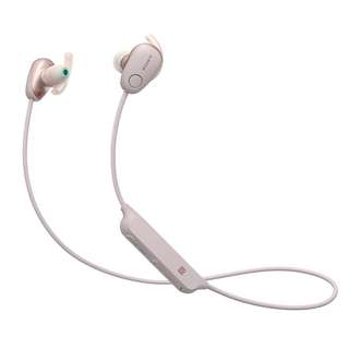 Sony WI-SP600N Wireless Sports Headphones with Noise Cancelling and IPX4 Splash Proof (Pink)