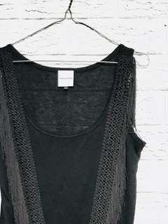 """Size 10-12 """"V"""" tassel dress"""