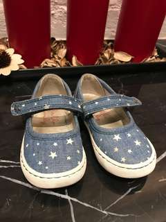 Baby girl blue Mary Jane shoes