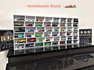 Hotwheels rack