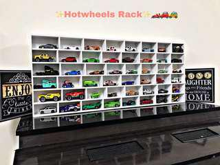Hotwheels rack