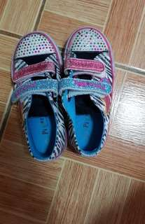 Pitter Pat girls rubber shoes 4T