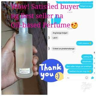 Oil-based Signature Perfume!!!