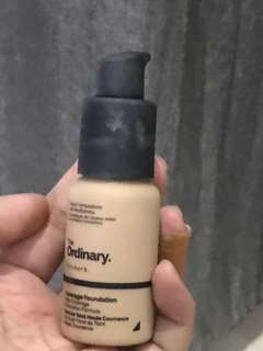 Foundation the ordinary 3/4 isi