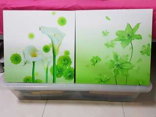New Wall Painting 2pc