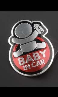 X Power⚡️:私家車🚗 車貼❗️Baby in Car