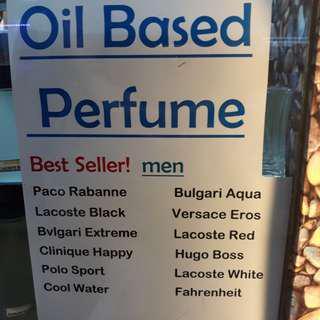 Oil-based Signature Perfume