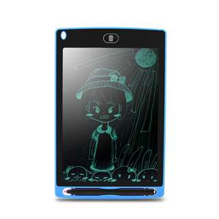 "*New* LCD Writing Tablet - [8.5""] [Blue Cover]"