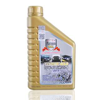Platinum Oil Synthetic Gold 10W-40SM/CI-4 1L