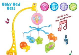 Baby Crib musical hanging toys