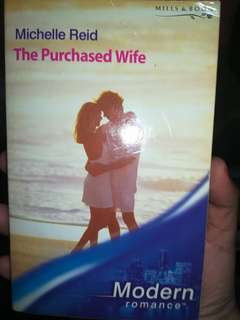 Mills and Boon Modern Romance The Purchased Wife