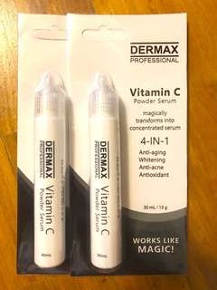 Dermax Vitamin C Powder Serum 30ml