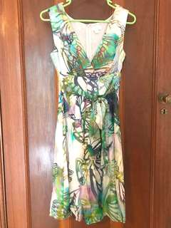 Ojay silk dress - size 6