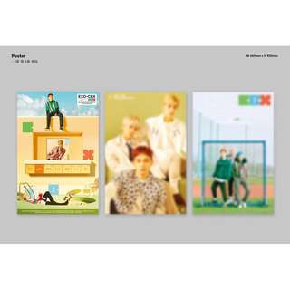 "[READY STOCKS] EXO-CBX ""Blooming Days"" Posters"