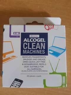 Bench Alcogel Clean Machines