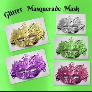 < ZHOELUX > Mask Masquerade Mask Glitter Mask Party Mask Halloween Cosplay Party Accessories
