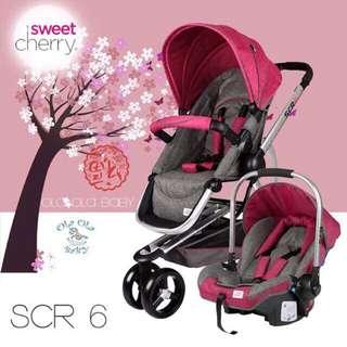 Sweet Cherry SCR6 + SCR7 (Pink/Beige)