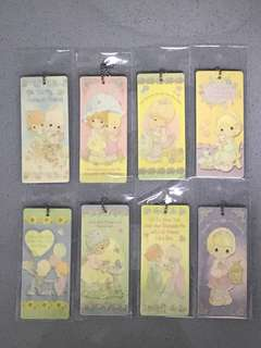 Precious Moments bookmarks / keychains