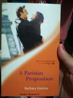 Mills and Boon: Tender Romances A Parisian Proposition