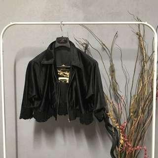 Half black jacket