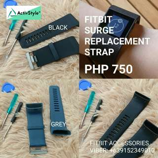 New stocks available for Black colors! Fitbit Surge Replacement Strap comes with tools and screws for a complete DIY project.