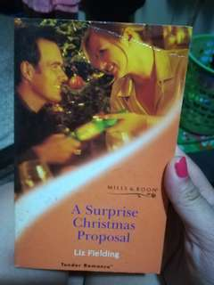 Mills and Boon Tender Romances A Surprise Christmas Proposal