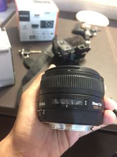 sigma 30mm 1.4 non art canon mount