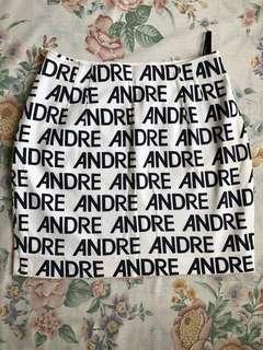 Andre Luciano high-waist skirt