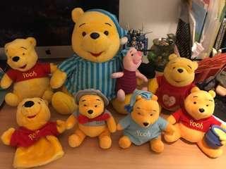 Disney Winnie the Pooh 公仔