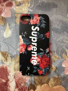 Supreme iphone 5 case
