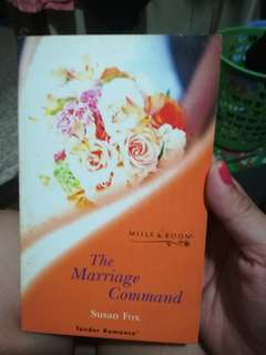 Mills and Boon Tender Romances The Marriage Command