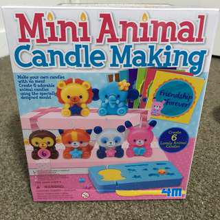 NEW! Mini Animal Candle Making Set