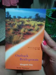 Mills and Boon Tender Romances Outback Bridegroom