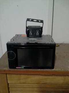 Dvd player reverse camera