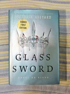 Glass Sword by Victoria Aveyard (Signed first edition)