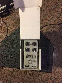 Distortion pedal Rottweiler