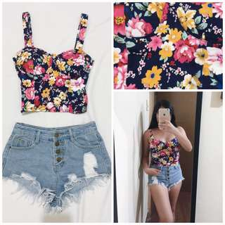 Floral Corset Small