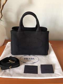Prada canvas bag