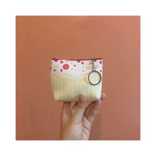 YELLOW RIBBON COIN PURSE