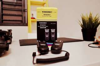 Yongnuo flash wireless triggers