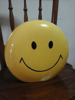 Piggy Bank Smiley Face