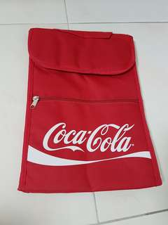 New limited Cooler bag Coca-Cola with zip in front.
