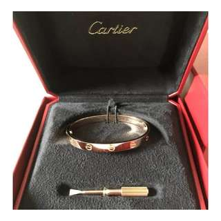 Authentic Cartier Love Bangle