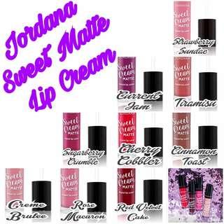 Jordana Matte Lip Cream