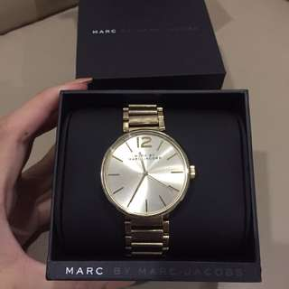 Marc jacobs peggy watch gold
